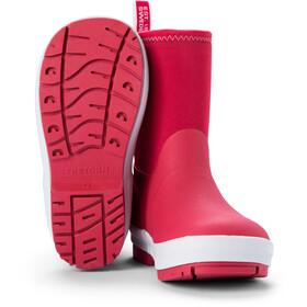 Tretorn Kuling Neoprene Rubber Boots Barn raspberry/white